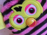 Het Cijfer van de Boom van Furby vulde het Dierlijke Stuk speelgoed van de Pluche van Doll (Rechte Strepen)