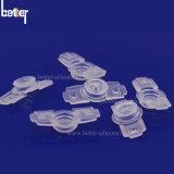 Silikon-Gummi-Kolben-Spulenkern-Lippendichtung für Spritze-Nadel-medizinisches Gerät