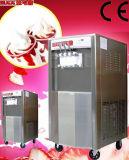 Rad-eingehangener Fußboden, der 2+1 Mischaroma-gefrorener Joghurt-Maschine steht