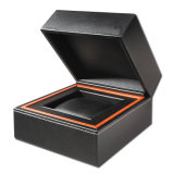Luxus-und Qualitätslederner Kasten-Plastikkasten PU-lederner Kasten für Uhr (Ys93)