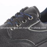 Профессиональные ботинки безопасности RS8009 выбитой кожи