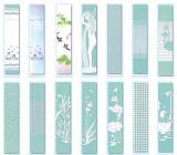 vidrio endurecido Seda-Impreso 3m m para el edificio/la construcción