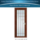 1.0mm~2.0mm 다른 유리를 가진 알루미늄 실내 여닫이 창 문