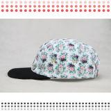 2016のカスタムブランク平らな縁5のパネルの急な回復の帽子の帽子