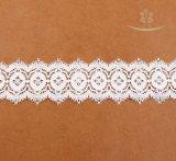 豪華なレースデザイン8cm幅の綿のかぎ針編みのレース