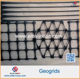 Polymère PP Biaxes géogrille noir de carbone minimum de 2 %