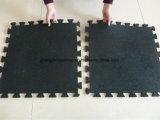De RubberMat van de Weerstand van de olie, de Antislip Met elkaar verbindende Matten van de Vloer van de Gymnastiek Rubber, de RubberMat van anti-Bacteriën