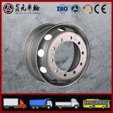 Bordas de aço da roda da câmara de ar do caminhão para o barramento/reboque (8.00V-20, 8.5-20)