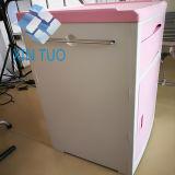 Кухонный шкаф хранения ухода за больным ABS стационара сразу цены фабрики с колесами и держателем бутылки