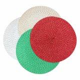 Presente Tablemat tecido poliéster 100% do Natal para o Tabletop e a decoração