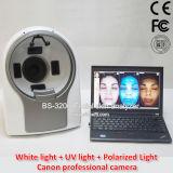 Analisador de pele facial 3D Máquina lupa com espectro 3