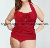 Sex Lady's One-Piece Swimming Wear. Roupas de banho de renda para mulheres,