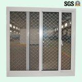 Puder überzogenes Andoized Surfacement schiebendes Aluminiumfenster mit Edelstahl Buglar NettoK01029