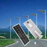 Lumière solaire solaire Integrated verte 6W-120W de jardin de réverbère d'Enery