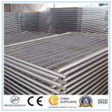 Cerca temporal galvanizada sumergida caliente de la construcción de acero del metal