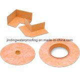 Membrana de impermeabilización para el sistema de impermeabilización de la ducha