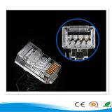 Fiche RJ45, fiche de fil, connecteur de fiche, connecteur RJ45 8p8c