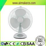 15W Hot vender 16polegadas ventilador de mesa recarregável com vida útil longa