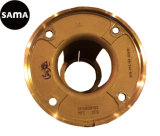 ステンレス鋼が付いているフランジのためのカスタマイズされた投資によって失われるワックスの鋳造