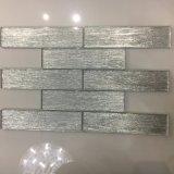 Neueste weiße Glasziegelstein-Kristallfliese für Wand-Dekoration (glatte Oberfläche)