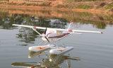 Cessna 182 de 1500 mm de gran envergadura en hidroavión RC Avión