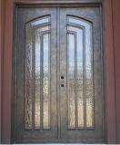 Bello portello di entrata del ferro di obbligazione superiore quadrata per la Camera