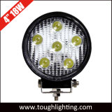 12V de 4 pulgadas de 18W Offroad LED redonda de las luces de trabajo carretilla