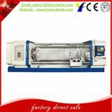 Precio de fábrica de la herramienta de máquina del torno de la cuerda de rosca de tubo del CNC del tubo de petróleo Qk1322