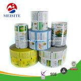 Безопасность пищевых сортов гибкая пластиковая упаковка продуктов питания многослойные пленки в рулон