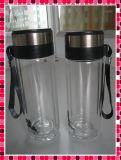 De vidro borossilicato de parede dupla xícara de chá (SH-GT06)
