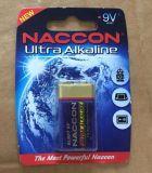 Ultra pile alcaline de pile sèche de la taille 6lr61 9V