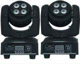 Le double a fait face au mini éclairage principal mobile de 8*8W RGBW 4in1 DEL