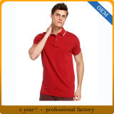 T-shirt de polo du coton des hommes bon marché faits sur commande de qualité de la Chine