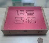 Couverture en aluminium de usinage de commande numérique par ordinateur avec la peinture rouge