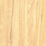 Papel de madeira da melamina da grão do Teak para o assoalho laminado, mobília, placa do MDF