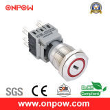 Onpow 19mm Push Button Switch (LAS1-BGQ, UL 의 세륨, CCC, RoHS)