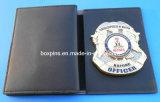 カスタムPolice BadgeおよびLeather Wallet