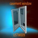 두 배 격리 낮은 E 유리에 의하여 채워지는 PVC 여닫이 창 Windows