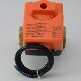 2 de manier DN20 motoriseerde de Elektrische Klep Sev8001 van de Bol van het Messing