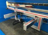 máquina de dobra de dobramento da máquina do freio da imprensa hidráulica do CNC de 160t3200mm, máquina de dobra da placa, máquina de dobra do metal de folha
