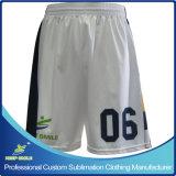 Shorts Premium del gioco di pallacanestro di sublimazione completa su ordine