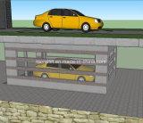 自動化された地階ピットシステム2レベル車の駐車上昇