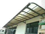 Folha de policarbonato DIY PC para debulhar Porta e janela