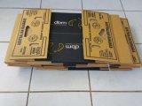 ケーキの昼食の食糧ボックス接着剤の折る機械(GK-1200PCS)