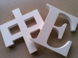 Classificare una scheda bianca della gomma piuma del PVC e la scheda del PVC di stampa dei segni