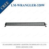 Barra ligera de conducción campo a través de la pulgada LED de 4WD SUV 320W 42 para el Wrangler del jeep