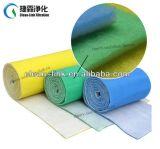 La fibre de polyester de cabine de pulvérisation de matières premières de filtre à air