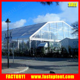 tent van de Partij van de Veelhoek van 30m de Brede Grote Witte die voor Verkoop in China wordt gemaakt