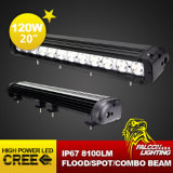 20 fuori strada Inch 120W Single Row LED Light Bar