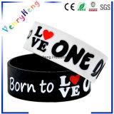 Bande de poignet en caoutchouc de bracelet de silicium pour les cadeaux promotionnels